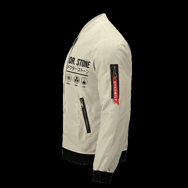 senku science bomber jacket 256847 - Anime Jacket