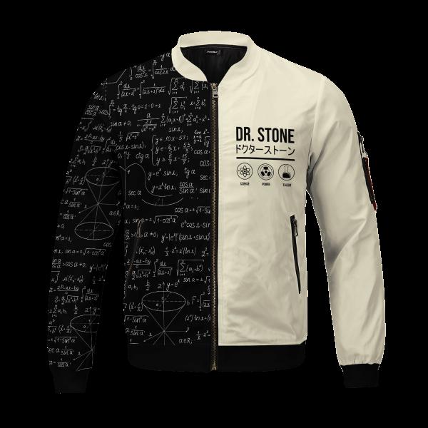senku science bomber jacket 356596 - Anime Jacket