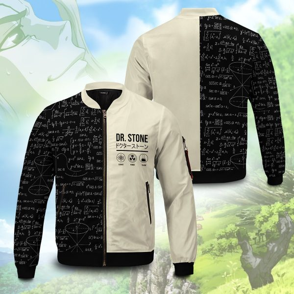 senku science bomber jacket 452426 - Anime Jacket