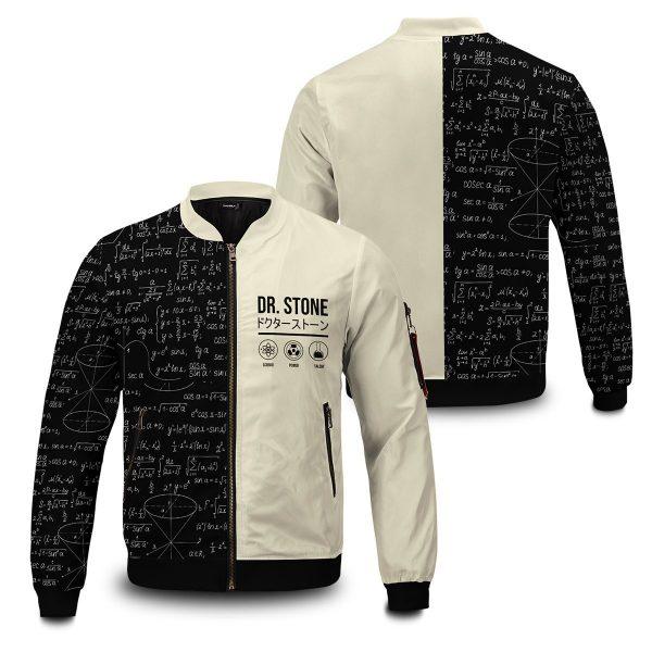 senku science bomber jacket 712303 - Anime Jacket