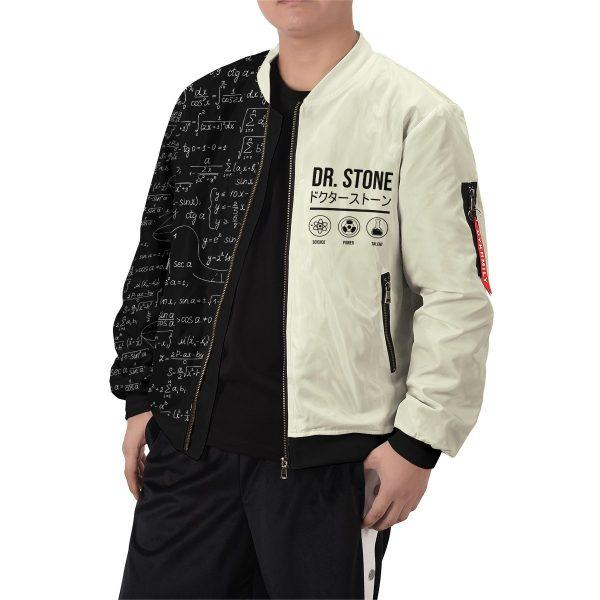 senku science bomber jacket 927555 - Anime Jacket