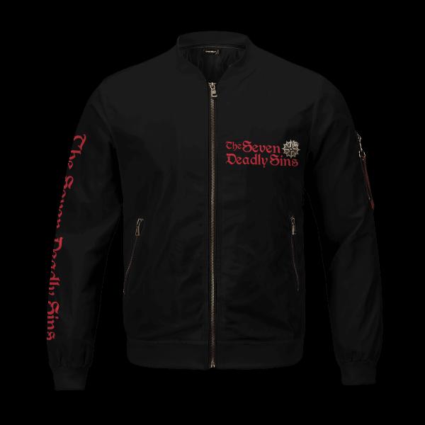 seven deadly sins bomber jacket 463986 - Anime Jacket