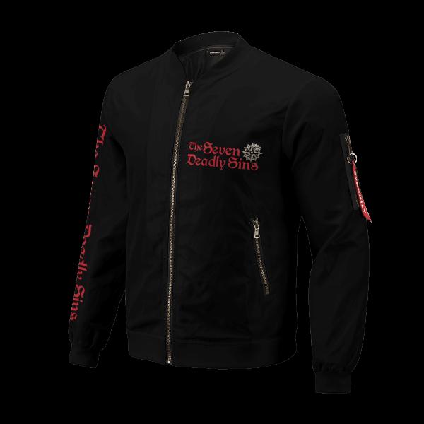 seven deadly sins bomber jacket 648590 - Anime Jacket
