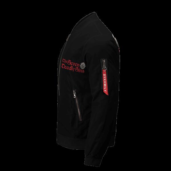 seven deadly sins bomber jacket 824673 - Anime Jacket