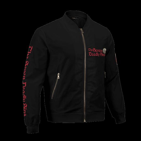 seven deadly sins bomber jacket 997382 - Anime Jacket