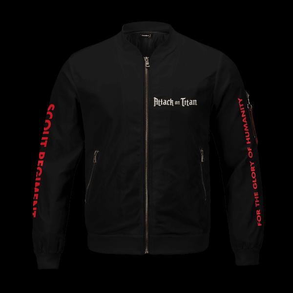 shingeki no kyojin bomber jacket 260451 - Anime Jacket
