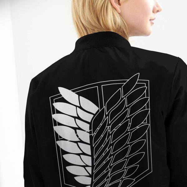 shingeki no kyojin bomber jacket 582412 - Anime Jacket