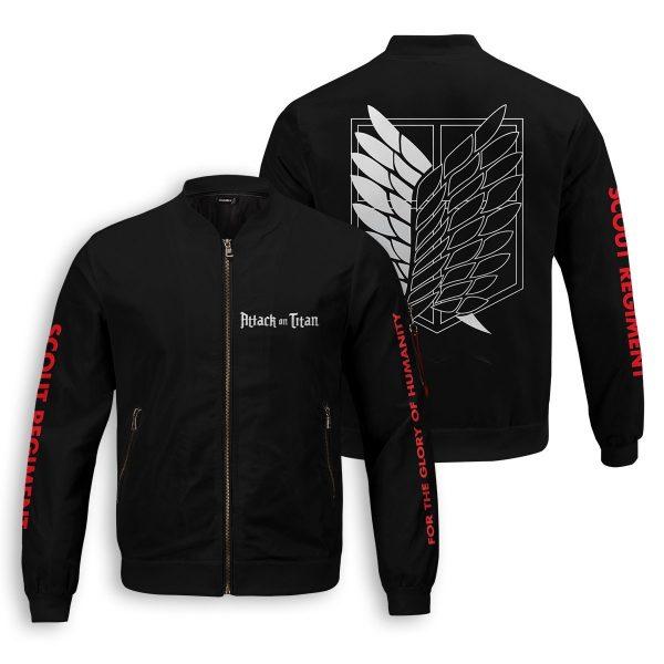 shingeki no kyojin bomber jacket 582727 - Anime Jacket