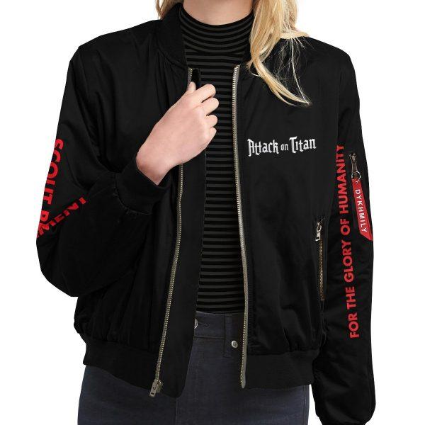 shingeki no kyojin bomber jacket 629603 - Anime Jacket