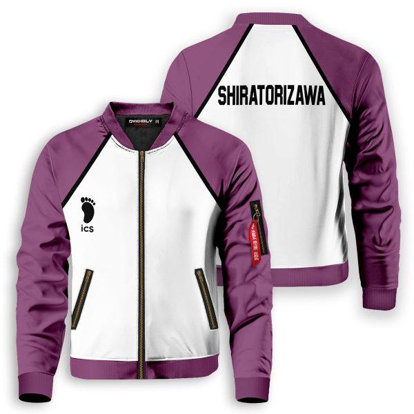 shiratorizawa bomber jacket 787010 - Anime Jacket