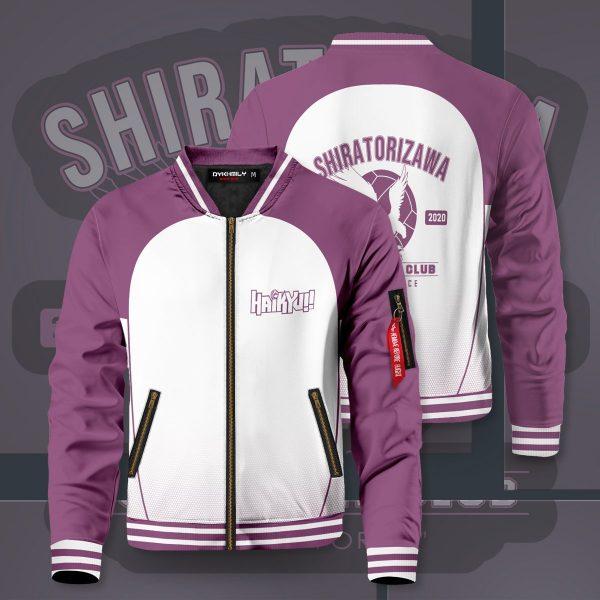 shiratorizawa intense force bomber jacket 793545 - Anime Jacket
