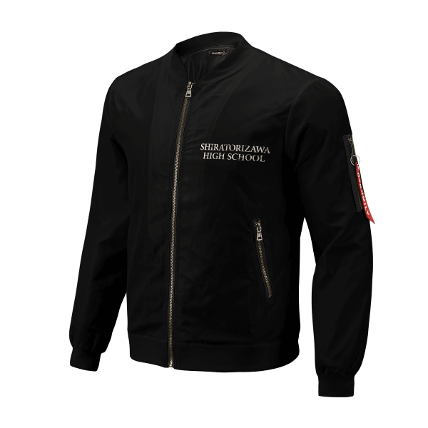 shiratorizawa rally bomber jacket 311682 - Anime Jacket