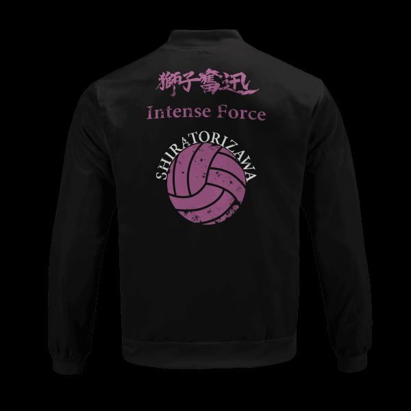 shiratorizawa rally bomber jacket 881244 - Anime Jacket