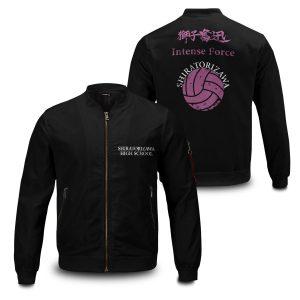 shiratorizawa rally bomber jacket 970352 - Anime Jacket