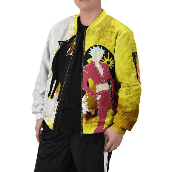 sin of greed bomber jacket 310358 - Anime Jacket