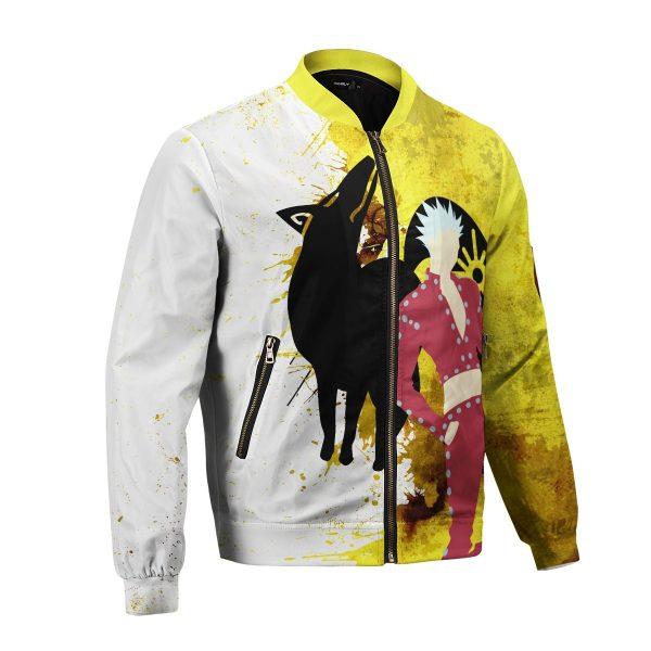 sin of greed bomber jacket 316395 - Anime Jacket