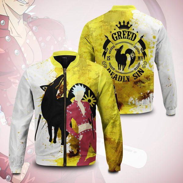 sin of greed bomber jacket 384207 - Anime Jacket
