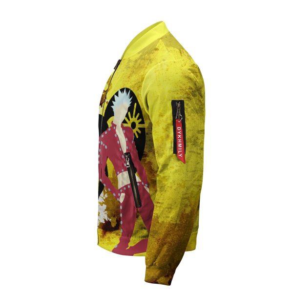 sin of greed bomber jacket 555444 - Anime Jacket