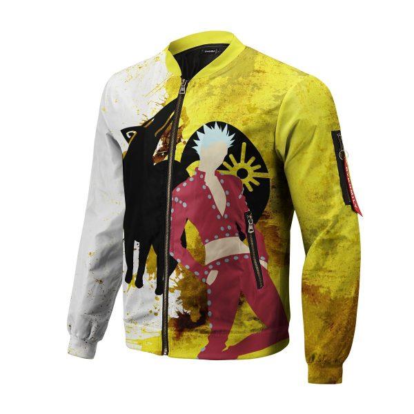 sin of greed bomber jacket 595333 - Anime Jacket