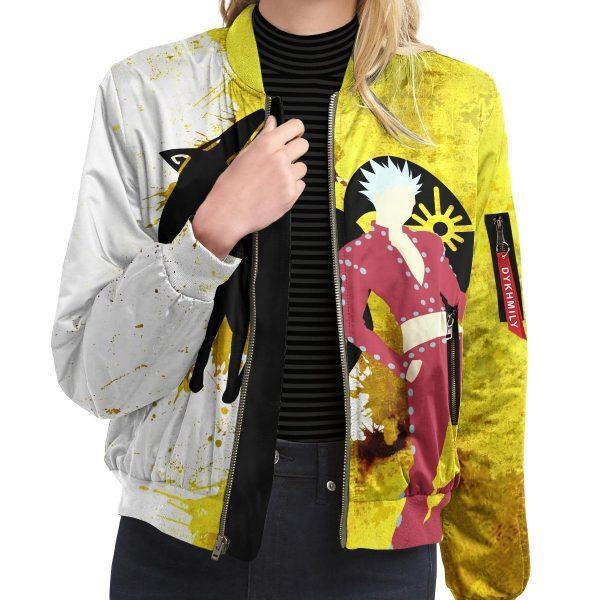 sin of greed bomber jacket 821348 - Anime Jacket