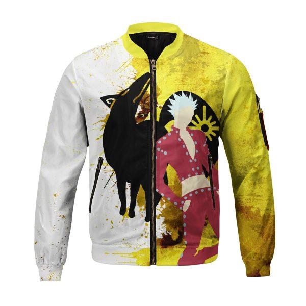 sin of greed bomber jacket 853174 - Anime Jacket