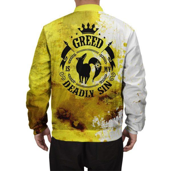 sin of greed bomber jacket 956476 - Anime Jacket