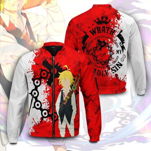 sin of wrath bomber jacket 122395 - Anime Jacket