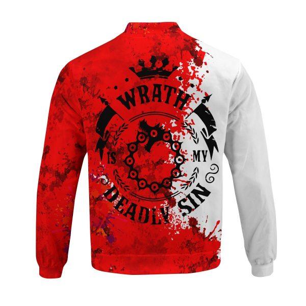 sin of wrath bomber jacket 136951 - Anime Jacket