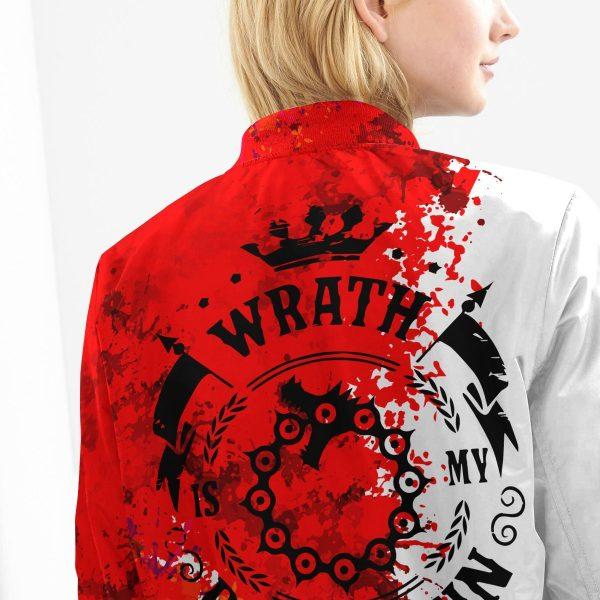 sin of wrath bomber jacket 175273 - Anime Jacket