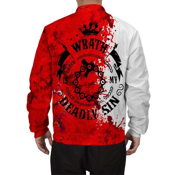 sin of wrath bomber jacket 296367 - Anime Jacket