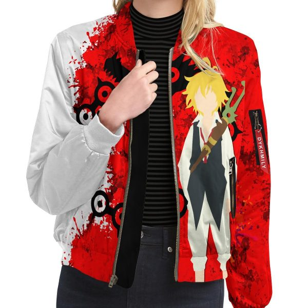sin of wrath bomber jacket 408265 - Anime Jacket