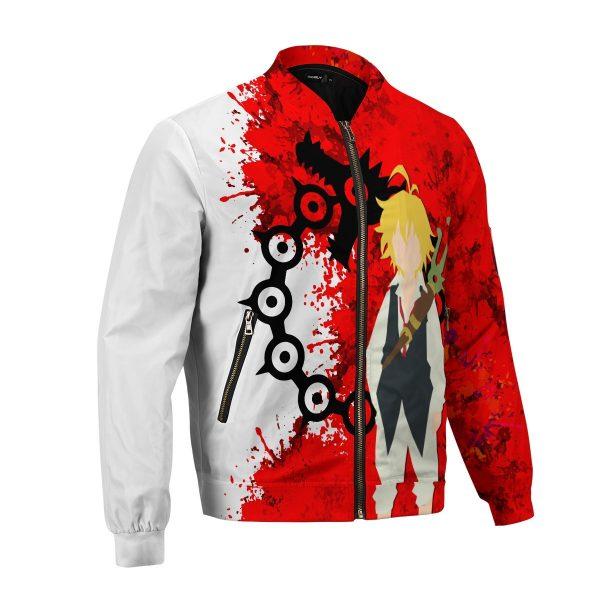 sin of wrath bomber jacket 527114 - Anime Jacket