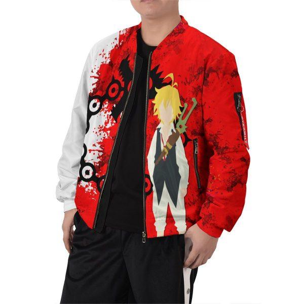 sin of wrath bomber jacket 670371 - Anime Jacket