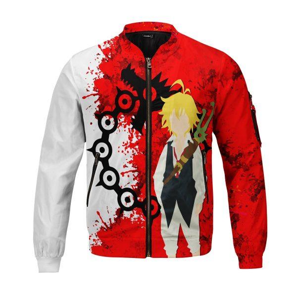 sin of wrath bomber jacket 817264 - Anime Jacket