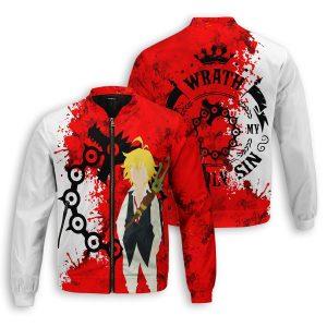sin of wrath bomber jacket 865603 - Anime Jacket