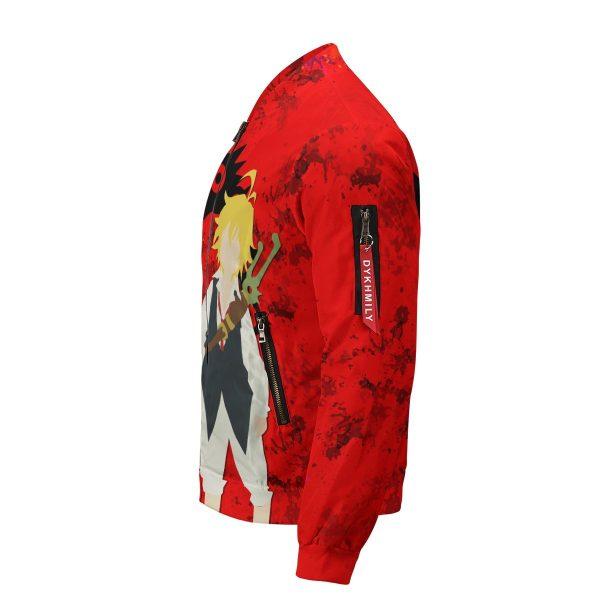 sin of wrath bomber jacket 956136 - Anime Jacket