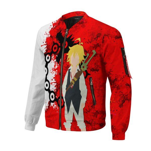 sin of wrath bomber jacket 985169 - Anime Jacket