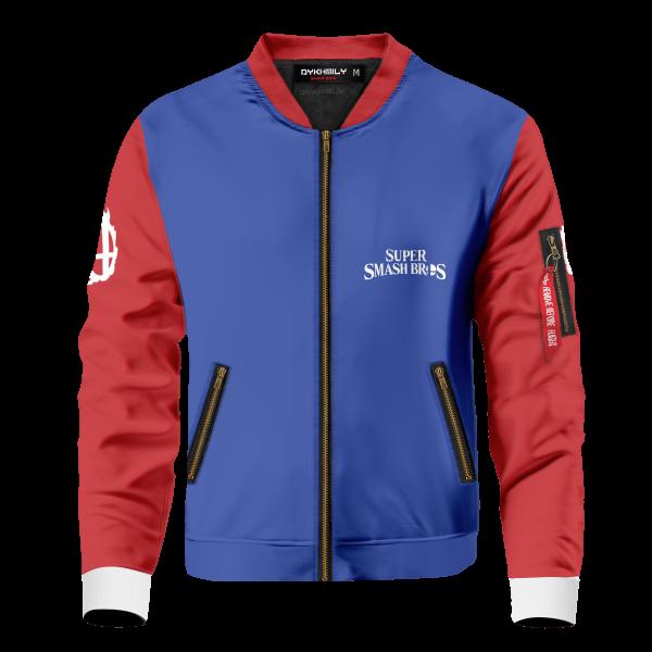 smash bros school bomber jacket 456798 - Anime Jacket