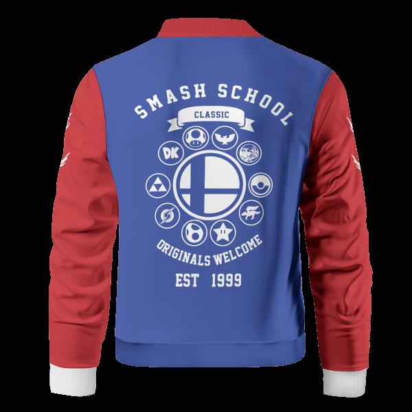 smash bros school bomber jacket 614208 - Anime Jacket