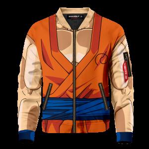 son goku buff bomber jacket 164076 - Anime Jacket
