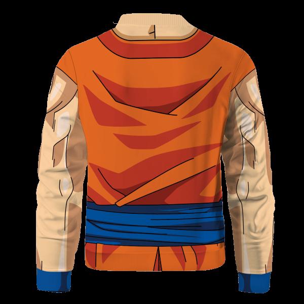 son goku buff bomber jacket 166082 - Anime Jacket