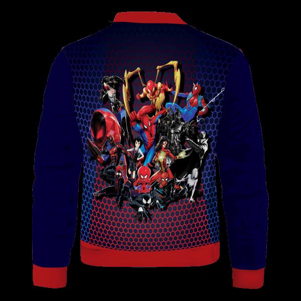 spiderman multiverse bomber jacket 192834 - Anime Jacket