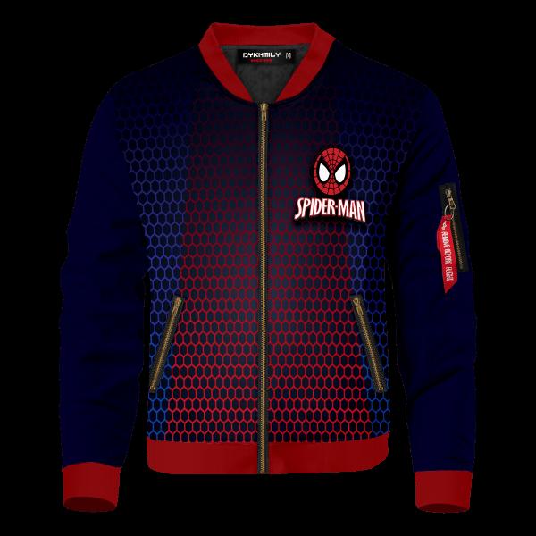 spiderman multiverse bomber jacket 545642 - Anime Jacket