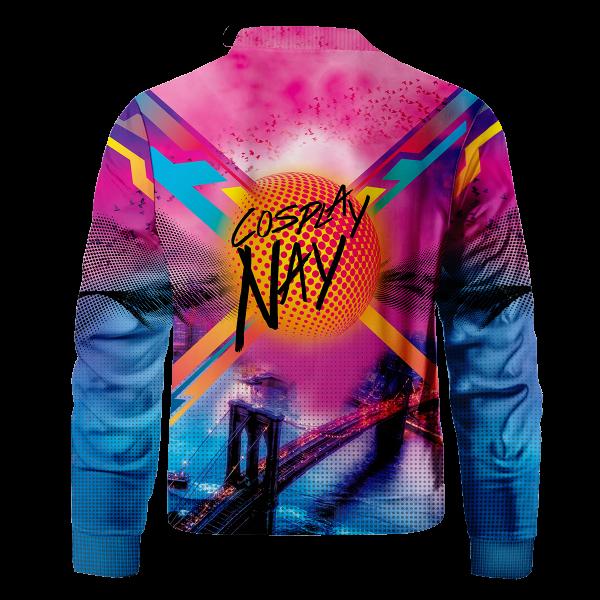 spidey miles signed bomber jacket 506086 - Anime Jacket