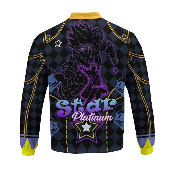 star platinum bomber jacket 295488 - Anime Jacket