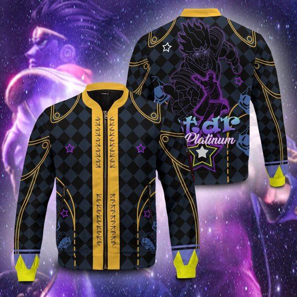 star platinum bomber jacket 407574 - Anime Jacket