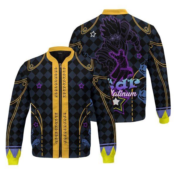 star platinum bomber jacket 463090 - Anime Jacket
