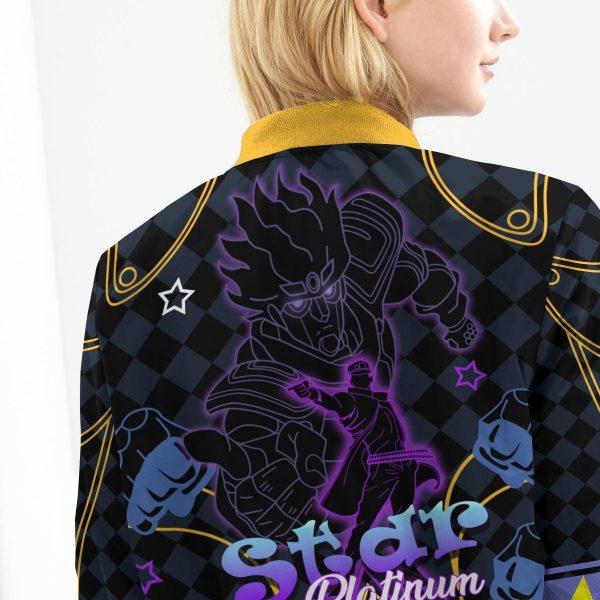 star platinum bomber jacket 923293 - Anime Jacket