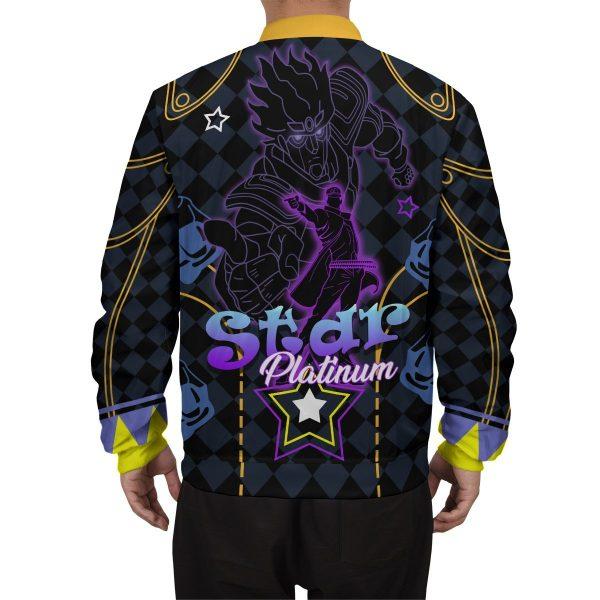 star platinum bomber jacket 983587 - Anime Jacket
