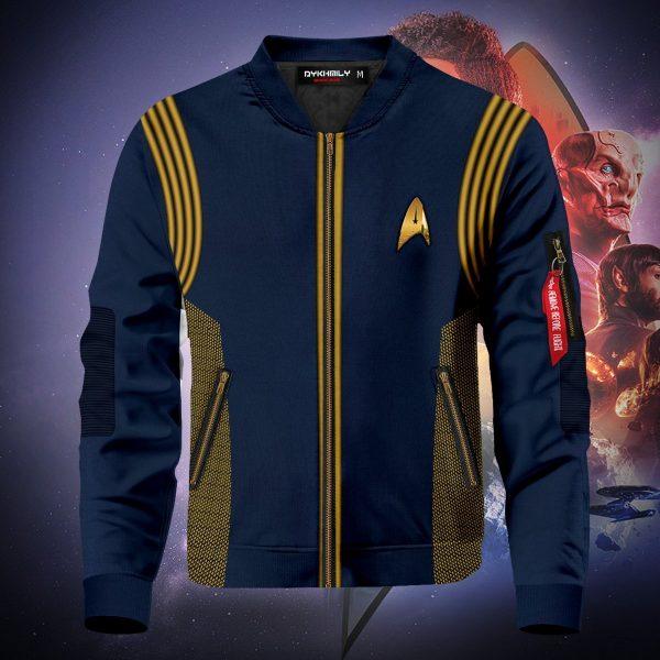 star trek discovery bomber jacket 313872 - Anime Jacket